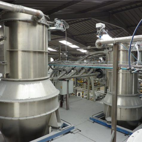 Dilute phase conveying